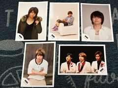 【公式写真】増田貴久(NEWS)5枚セットK