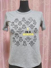 :新品:size140:ミニオンTシャツ: