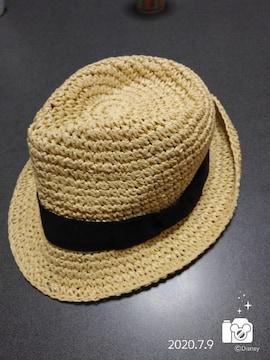 新品麦わら帽子(*´∀`)