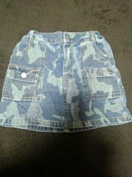 女児 110 ミニスカート 中古