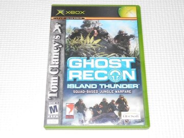 xbox★Tom Clancy's GHOST RECON ISLAND THUNDER 海外版