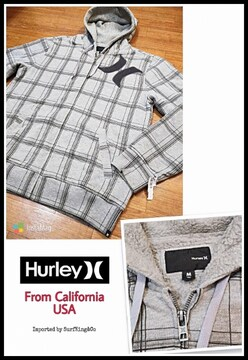 HURLEY裏ボアZIPフーディジャケット非売品USAモデル希少USED特価