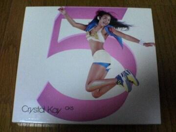 クリスタル・ケイCD CK5 CRYSTAL KAY DVD