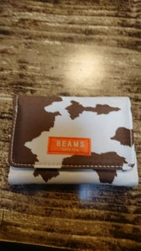 新品BEAMSの財布(雑誌の付録)
