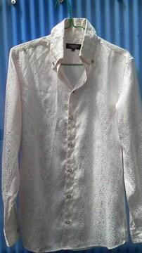 トルネードマートレオパード柄長袖シャツ