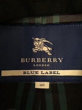 バーバリー ブルーレーベル トレンチコート size 40