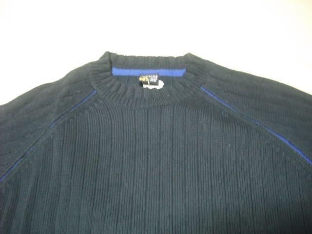 13 男 NAUTICA ノーティカ 紺 セーター M < ブランドの