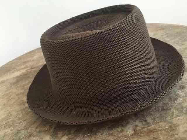 新品!オシャレ!メッシュハット 茶色 Hat < 男性ファッションの