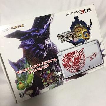 新品 モンスターハンター3G スペシャルパック 3DS