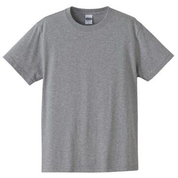 United Athle 5.6オンス コットン Tシャツ ミックスグレー XL