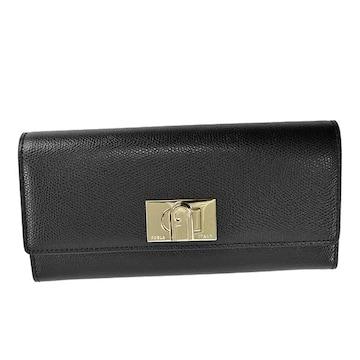 ★フルラ FURLA 1927 長財布(BK)『PCV0』★新品本物★