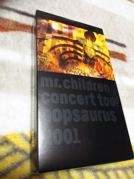 *☆Mr.Children☆Concert Tour POPSAURUS 2001 VHS♪