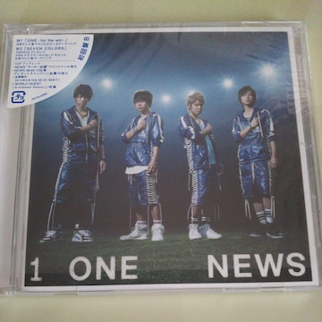 NEWS◇ONE-for the win- 初回盤B CD◇中古美品