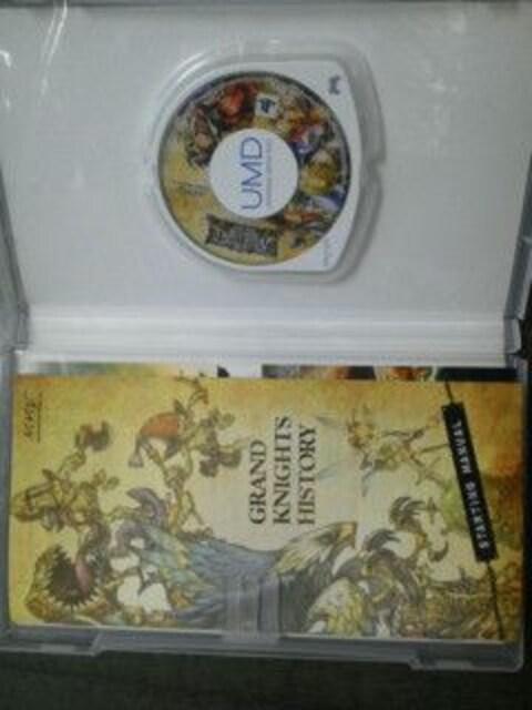 PSPグランナイツヒストリー攻略本&ビジュアルブック付き < ゲーム本体/ソフトの