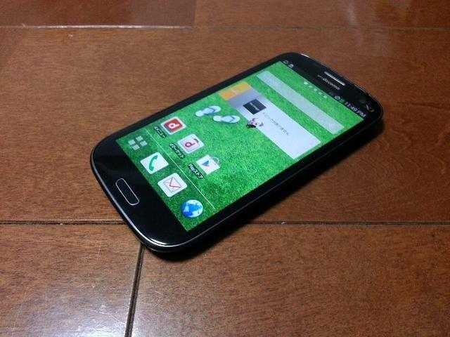 即落/即発!!中古品 SC-03E Galaxy S3 α ブラック  < 家電/AVの