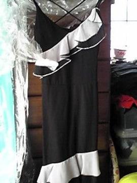 白黒ドレス