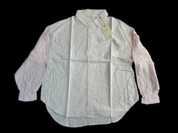 新品 定価5985円 ダズリン DazzliN ピンク 生成り 長袖 シャツ