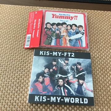 CDKis-My-worldキスマイyummy新品同様アルバムKis-My-Ft2