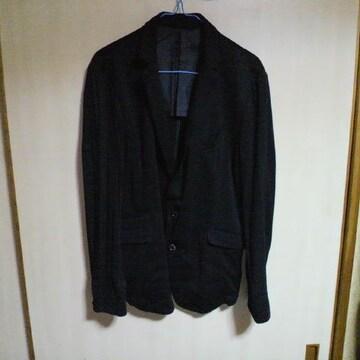 NICOLE/ニコル黒 テラード ジャケット