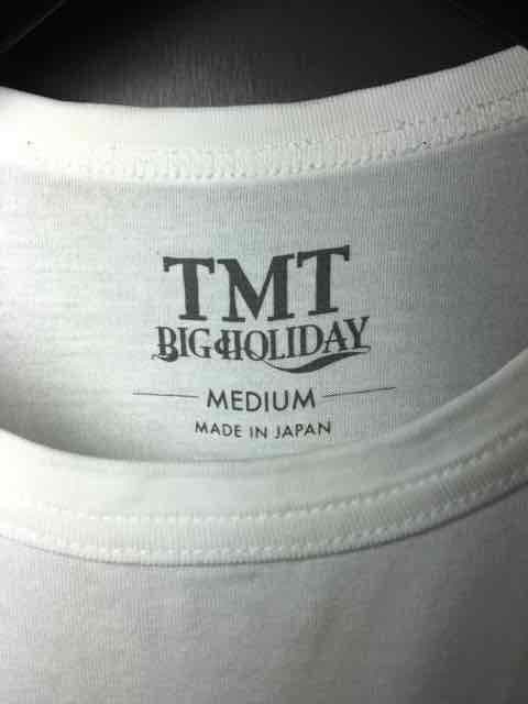 TMTティーエムティー/プリントTシャツ/白M < ブランドの
