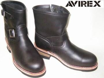 アビレックス新品ショート エンジニア ブーツ2225黒8