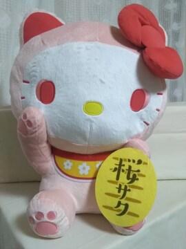 ハローキティ 桜まねきねこドールGJ