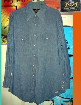 BLUE BELL MAVERICK シャンブレー シャツ ウエスタン 70s
