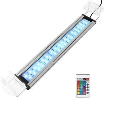 led アクアリウムライトRGB リモコン付き 36 LED灯37-60CM