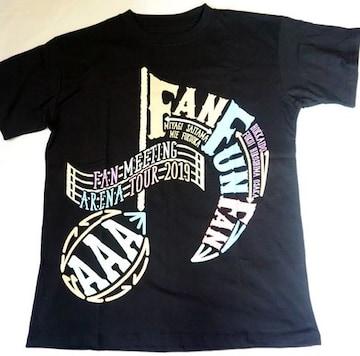 AAA 黒 Tシャツ Sサイズ FAN FUN FAN 2019 セブン限定