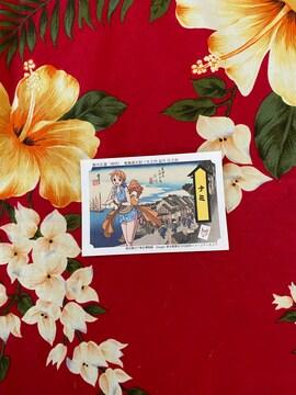 永谷園☆お茶漬けおまけ☆ワンピースカード☆ナミ☆