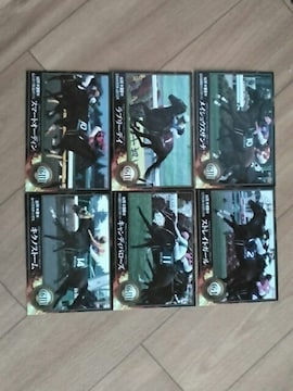 送料無料 エポック ホースレーシング レギュラーカード6枚