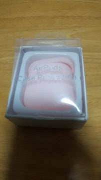AirPodsのケース◆シリコン素材◆薄いピンク