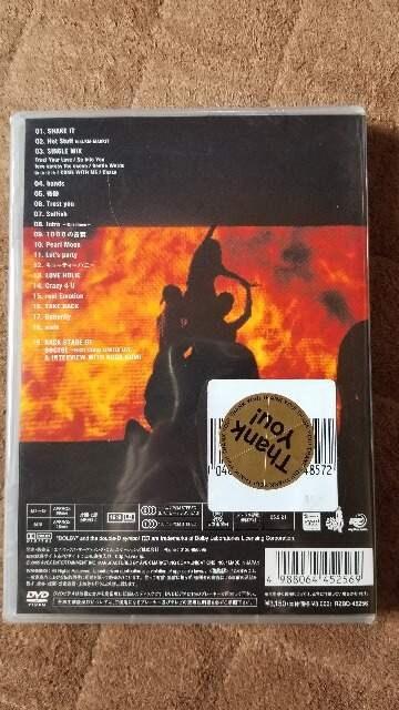 倖田來未★secret LIVE DVD 【未開封】 < タレントグッズの
