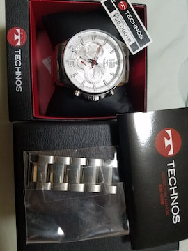 テクノス腕時計美品