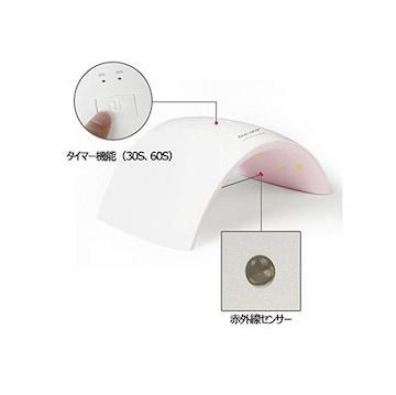 UVとLEDダブルライト 24W ネイルドライヤー 赤外線検知