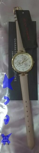 クレイサス CLATHAS トリオカメリア サークルフェイス 腕時計  < ブランドの