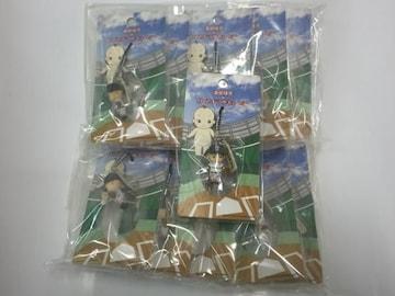 帝京大学高校 ローズオニールキューピー高校球児ストラップ 10個