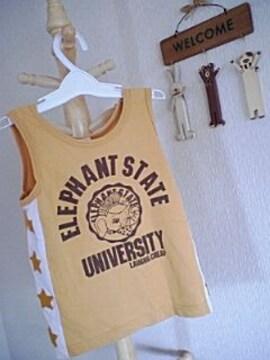ラフ&チープランニングシャツSサイズカラシ色