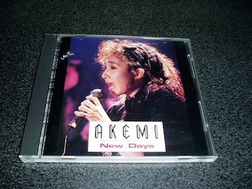 CD「アケミ(AKEMI)/New Days」花のあすか組!2主題歌収録 即決