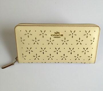 新品 COACH F53868 長財布 レディースサイフアウトレット品
