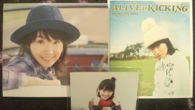 激安!激レア!☆水樹奈々/ALIVE KICKING☆初回盤/生写真付!超美品!  < タレントグッズの