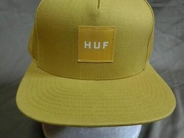 USAストリート系スケボー【HUF】 ロゴワッペン付キャップ