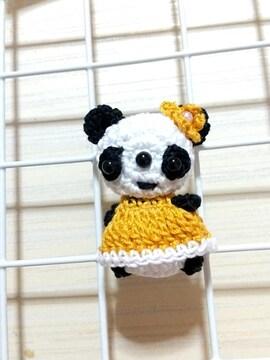 パンダ☆あみぐるみマグネット
