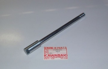 kawasaki Vintage MX F12MX KX250 KX450 アクスルシャフト