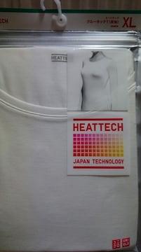 ユニクロヒートテックXLオフホワイトwoman990円送料込み
