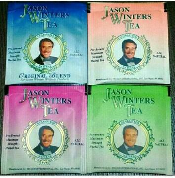ジェイソンウィンターズティーのティーパック4袋