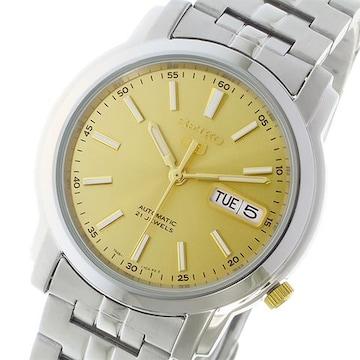 セイコー SEIKO セイコー5 SEIKO 5 オート 腕時計 SNKL81K1 ゴールド ゴールド