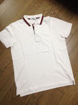 美品EDIFICE デザインポロシャツ 日本製 エディフィス