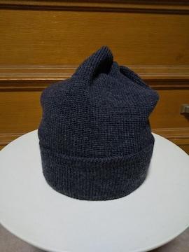 ジョーマッコイ コットン ニットキャップ ビーニー 帽子 グレー 黒 日本製 リアルマッコイズ