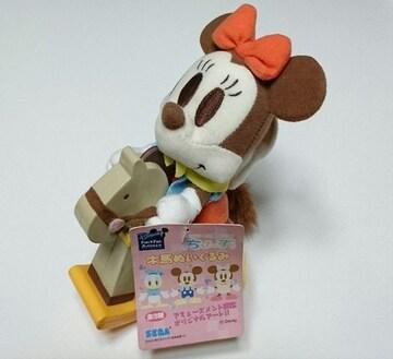 ミニーちゃん★木馬 ぬいぐるみ